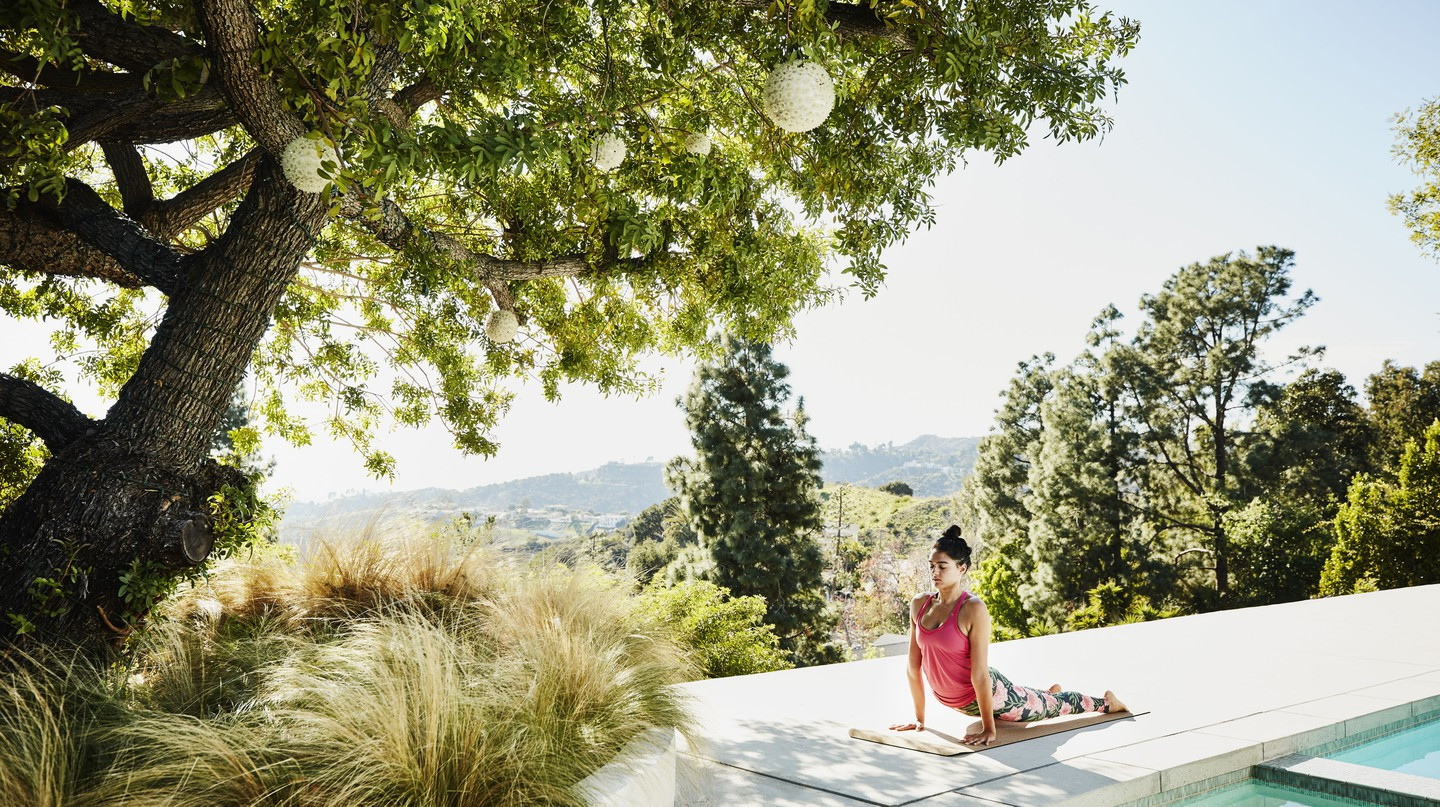 California has all kinds of yoga retreat – from the highly spiritual to those teamed with wine