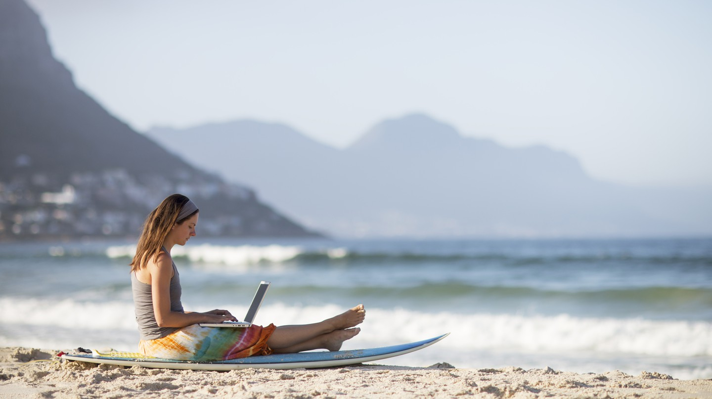 Working from home and fancy a change of scenery? It's easier than you might think