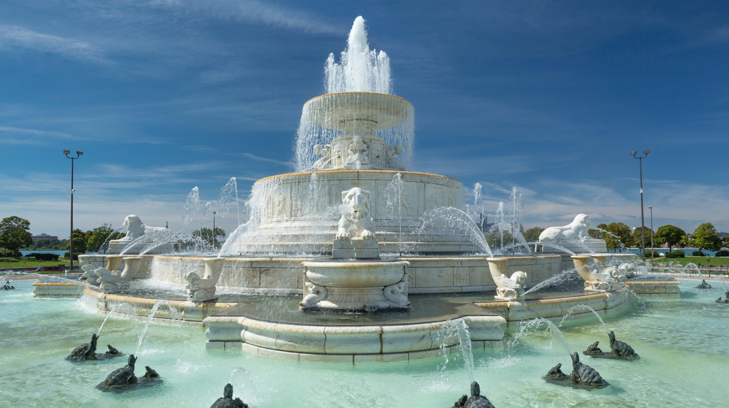 Belle Isle Park is a beautiful must-visit island in the Detroit River