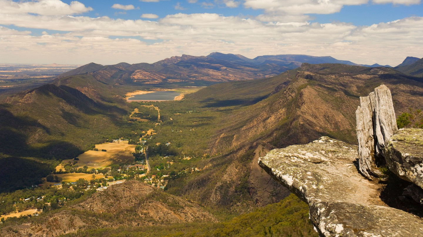 In addition to spectacular scenery, the Grampians offer impressive art spaces and more unusual sites