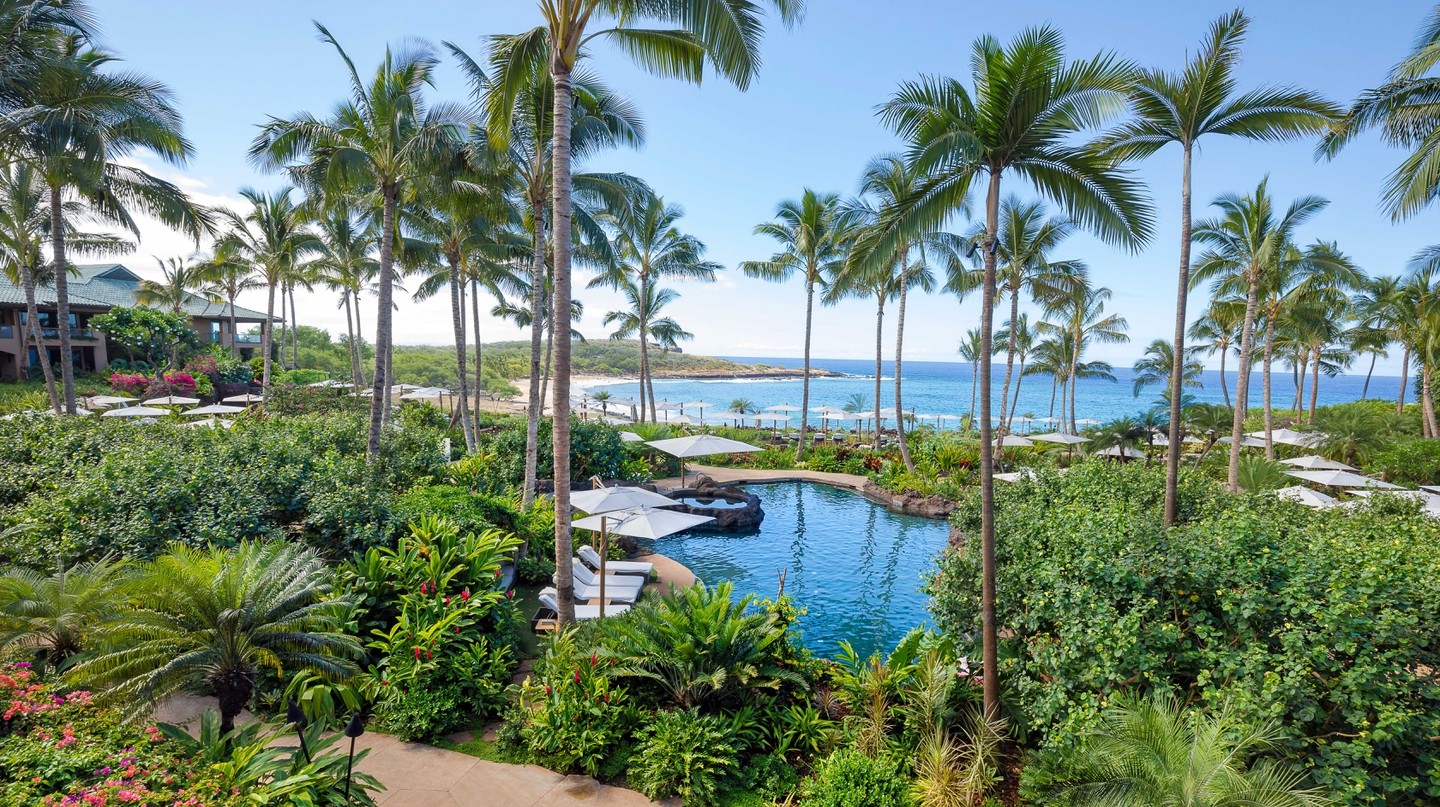 The Four Seasons Resort Lanai in Hawaii is pulling out all the stops to woo travelers