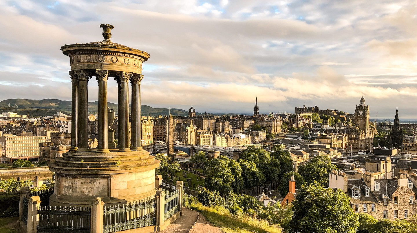 Edinburgh is a vibrant city steeped in history