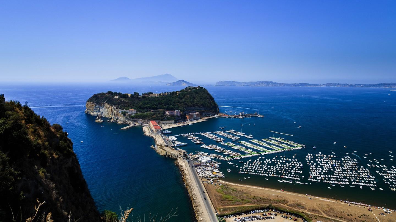 Parco Virgiliano offers incredible coastal views