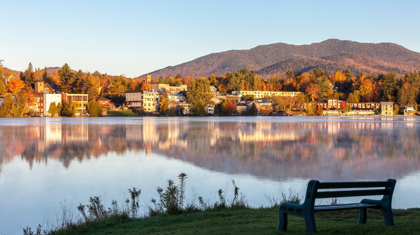 Lake Placid is popular with outdoor adventurers year-round