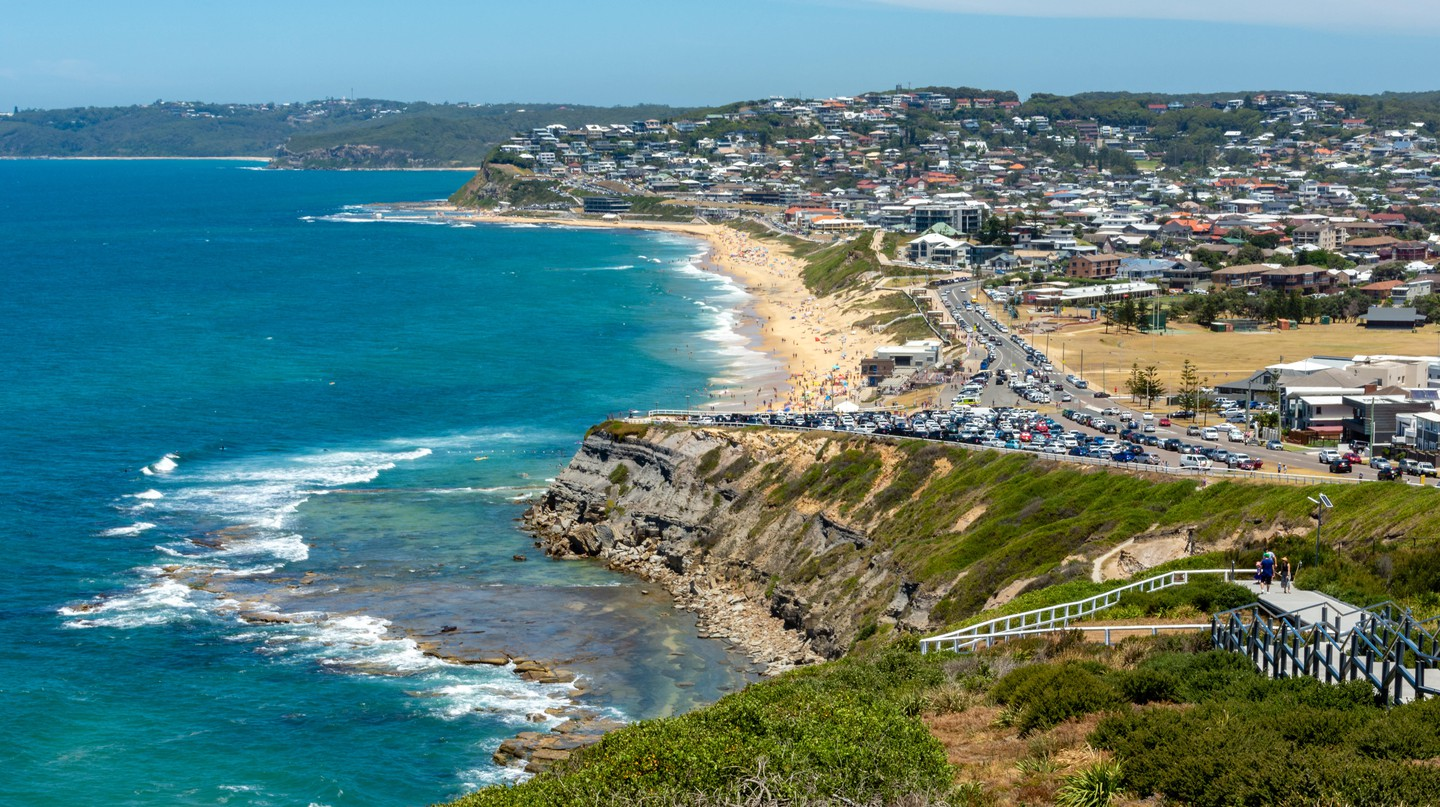 A multitude of activities and sights await at this booming beach town north of Sydney, Australia