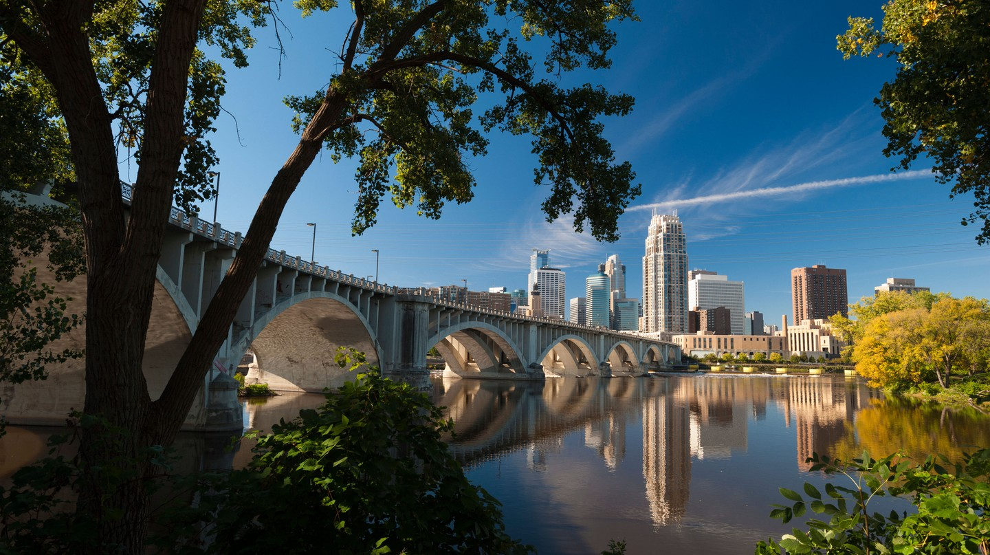 See the mighty Mississippi during your visit to Minneapolis