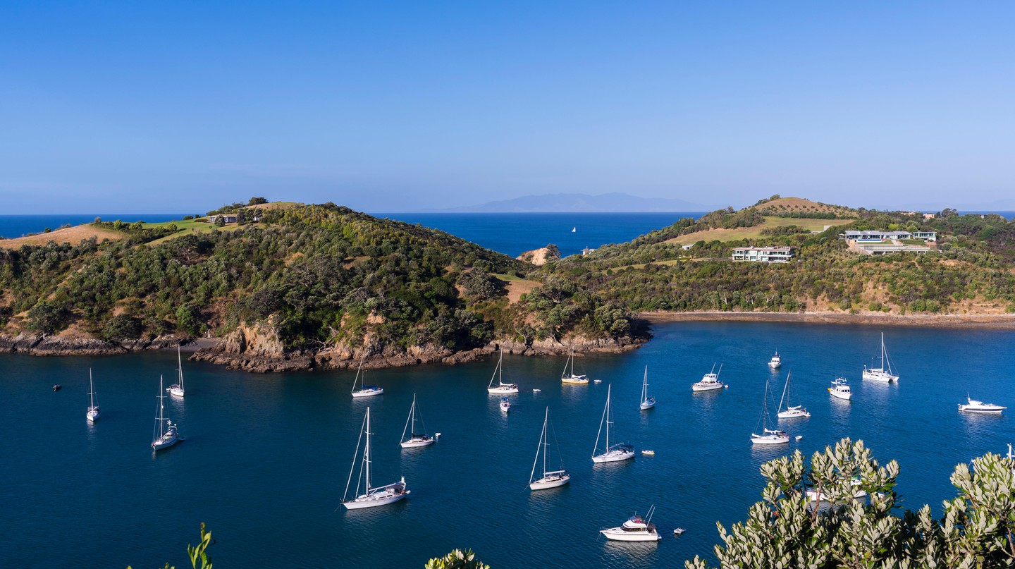 Waiheke Island is the perfect place for a scenic New Zealand day trip