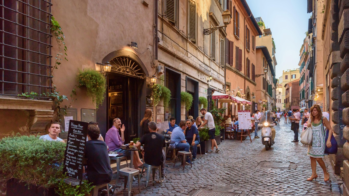 Trastevere is one of Rome's coolest and most beloved neighbourhoods