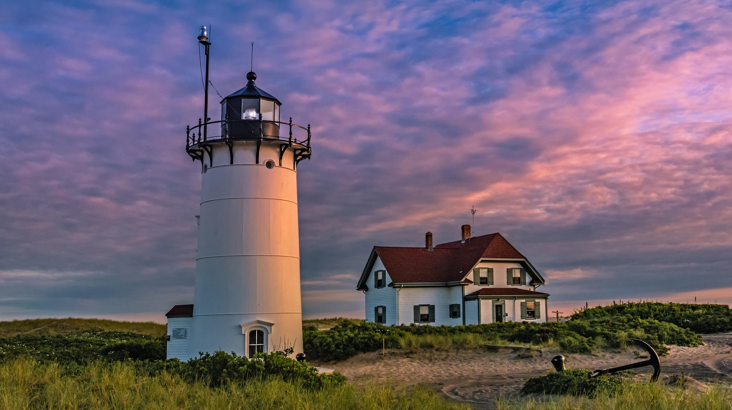 The Race Point Lighthouse was the third lighthouse built on Cape Cod