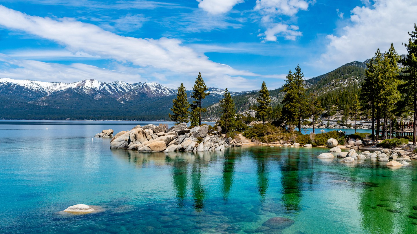 Lake Tahoe is a beautiful gem in Western Nevada