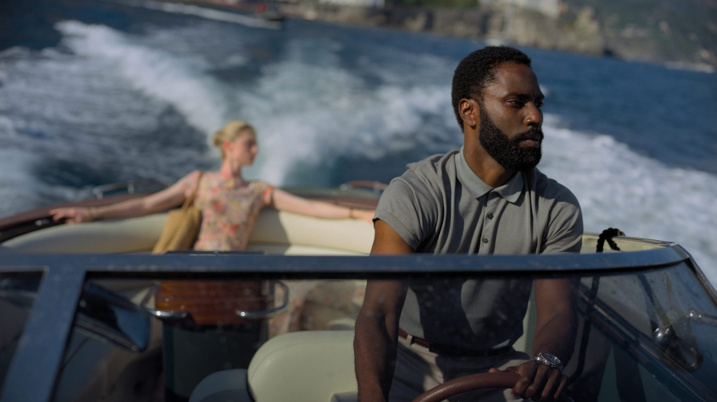 Much of the film 'Tenet', starring John David Washington, takes place on or around open water