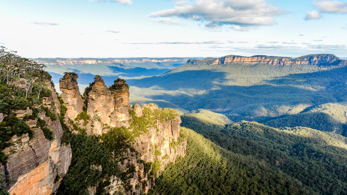 The historic Three Sisters sandstone rock formation is one of the greatest tourist draws in the Blue Mountains