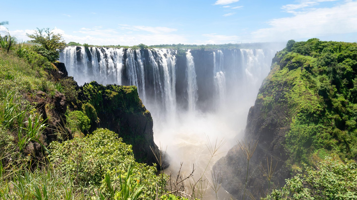 Victoria Falls is spectacular from any angle, although a helicopter ride over the top gives you the ultimate view