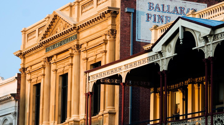 Ballarat, Australia, is rapidly becoming a regional arts hub