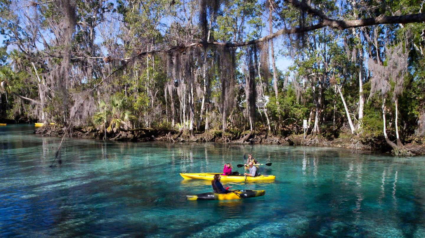 Beyond Florida's main tourist attractions lie quaint historic towns and quiet pockets of natural beauty such as Crystal River