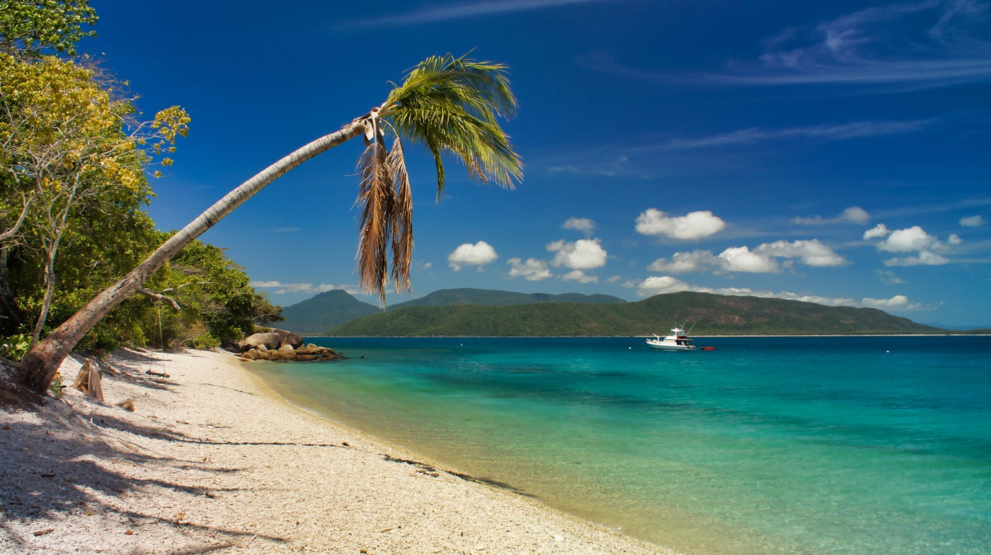 Fitzroy Island is home to one of the top beaches in Australia