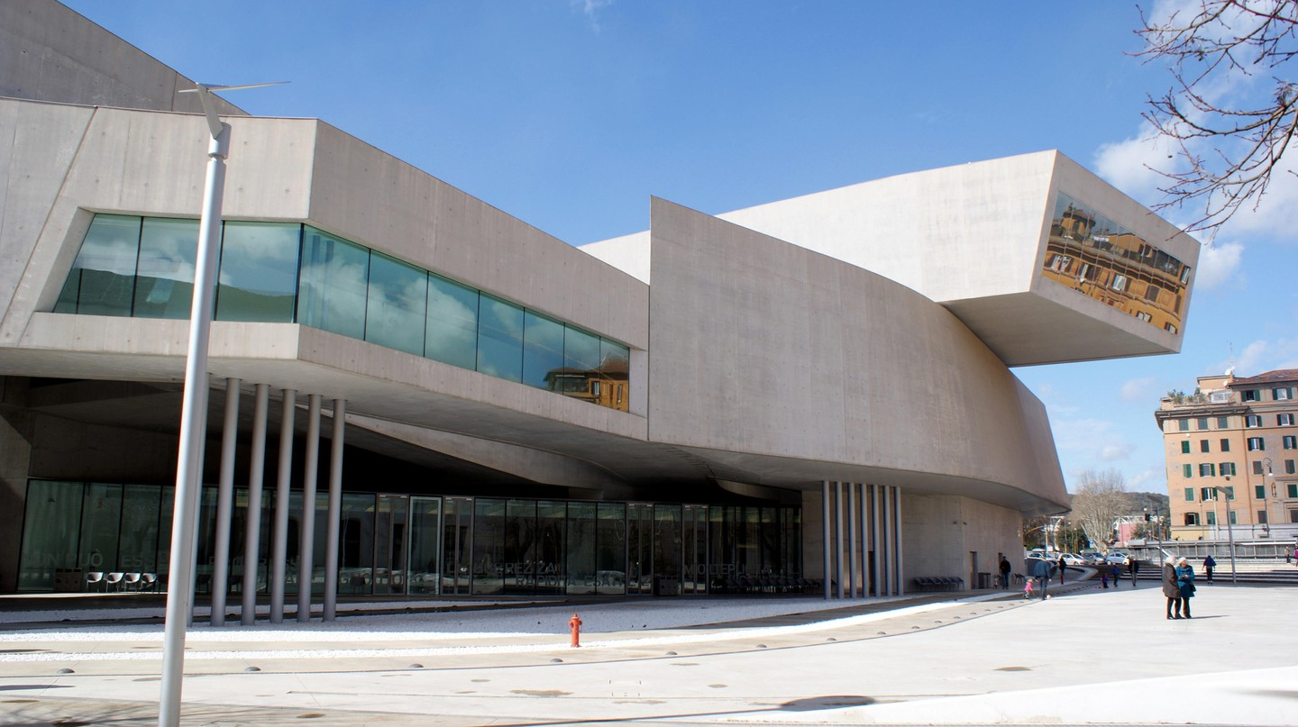 Rome's MAXXI is a multidisciplinary space showcasing avant-garde art and innovative architecture of the 21st century