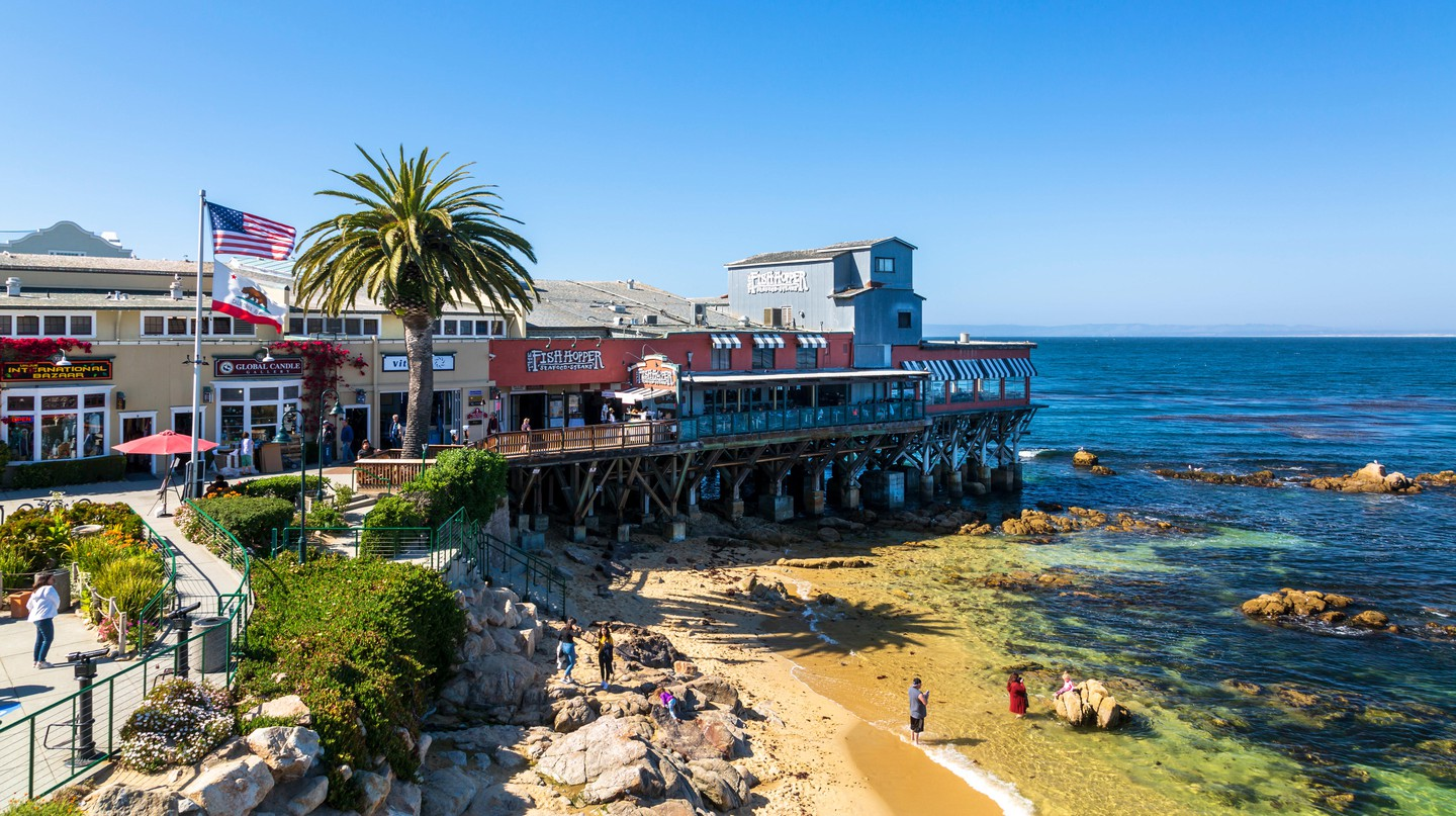 All the delights of Monterey Bay, California