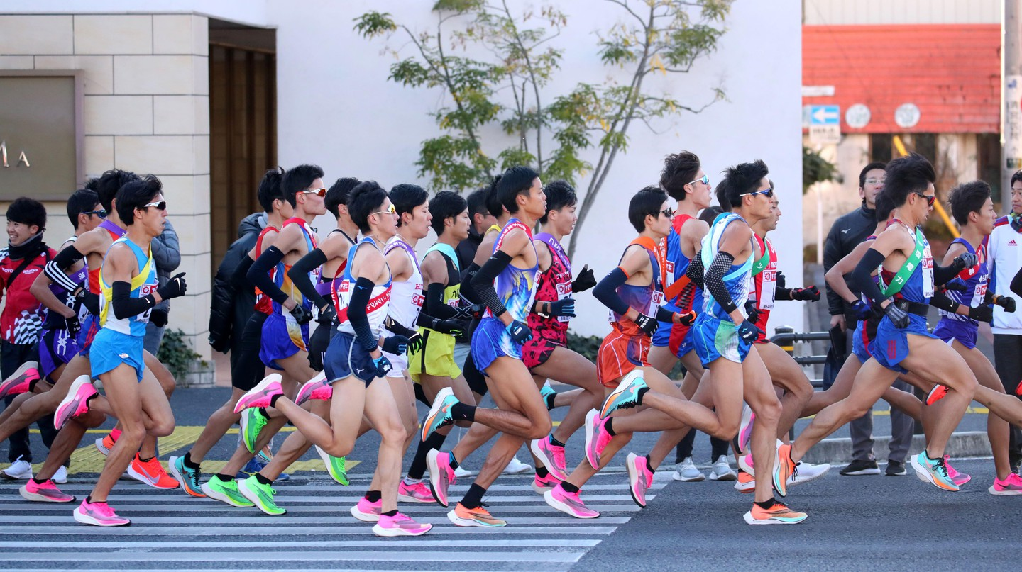 The 2020 Ekiden took place in January, but with social distancing during the pandemic, the race has now gone virtual