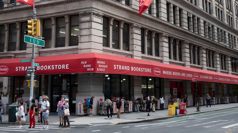 Strand Bookstore in Manhattan