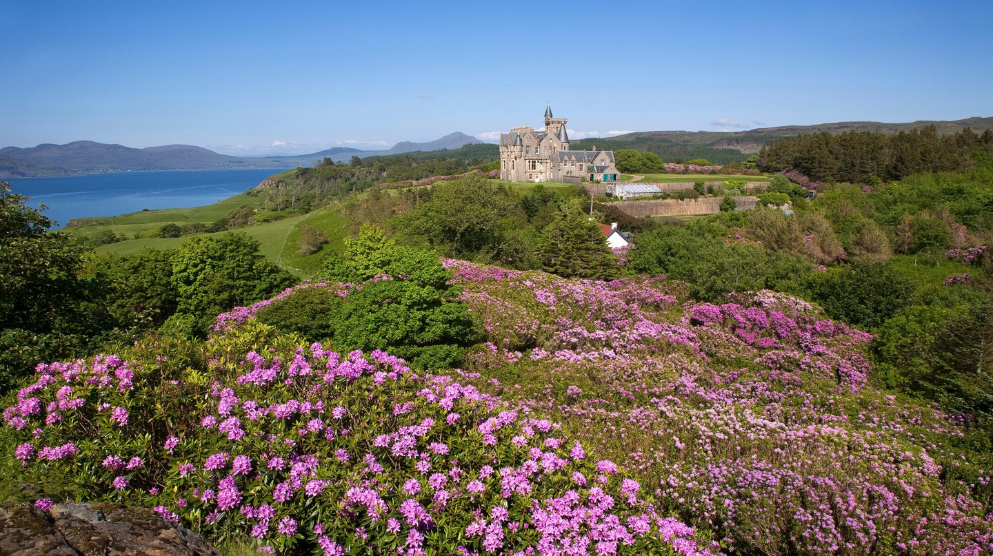 Stay in one of Scotland's incredible castles, such as Glengorm, on the Isle of Mull