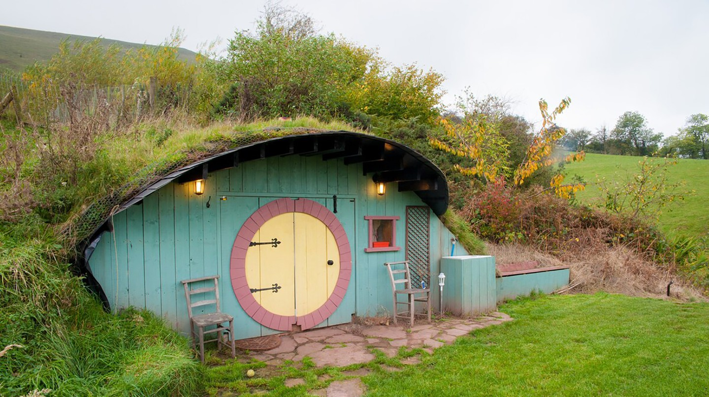 The Fairy House in Pengenffordd is like something out of The Lord of the Rings