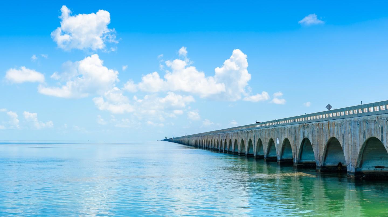 Long Bridge at Florida Key's Historic Overseas Highway