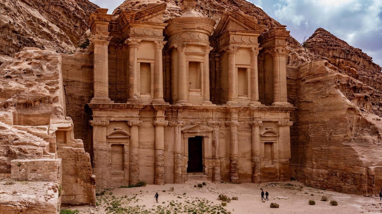 The Treasury at Petra Ruins in Jordan