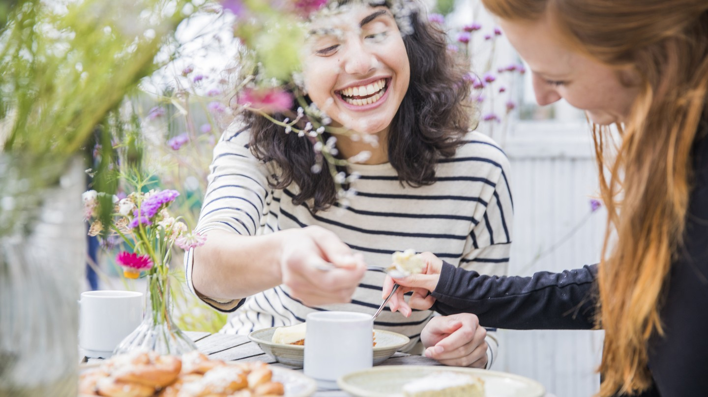 Fika is a Swedish tradition in which people put aside time to socialise over coffee and cake