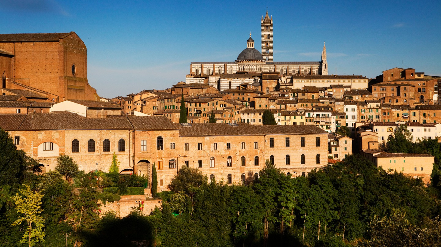 The small medieval city of Siena, in Tuscany, is a Unesco World Heritage Site