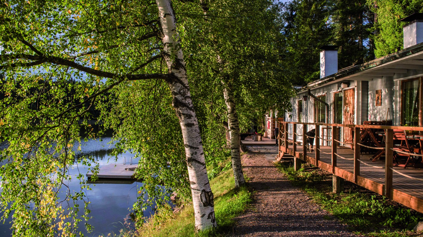 Nuuksio National Park is the perfect spot to relax and recharge in nature