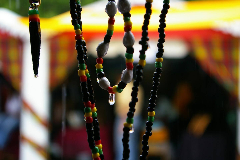 Jamaican necklaces