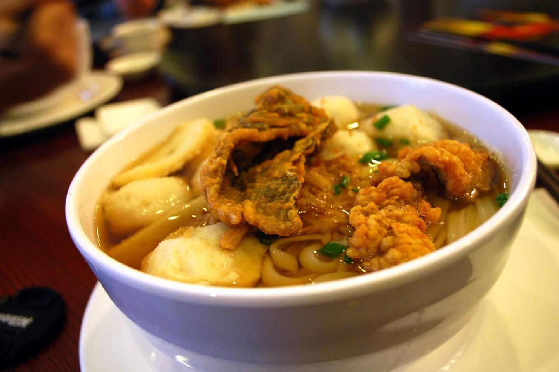 Суп-лапша с рыбными шариками