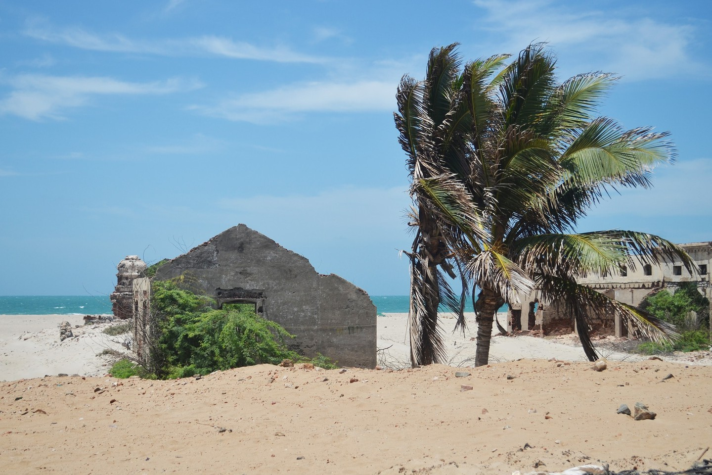 Dhanushkodi is an abandoned ghost town in Tamil Nadu