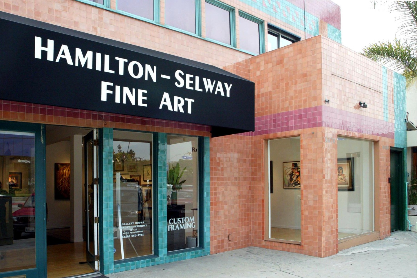 ART EXHIBITION BY RONNIE WOOD AT THE HAMILTON SELWAY FINE ART GALLERY, LOS ANGELES, AMERICA - 01 NOV 2002
