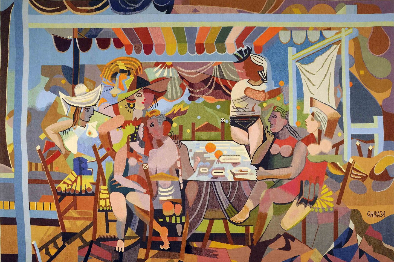 The Benaki's Ghika Gallery showcases the work of 20th-century painter Nikos Hadjikyriakos-Ghika