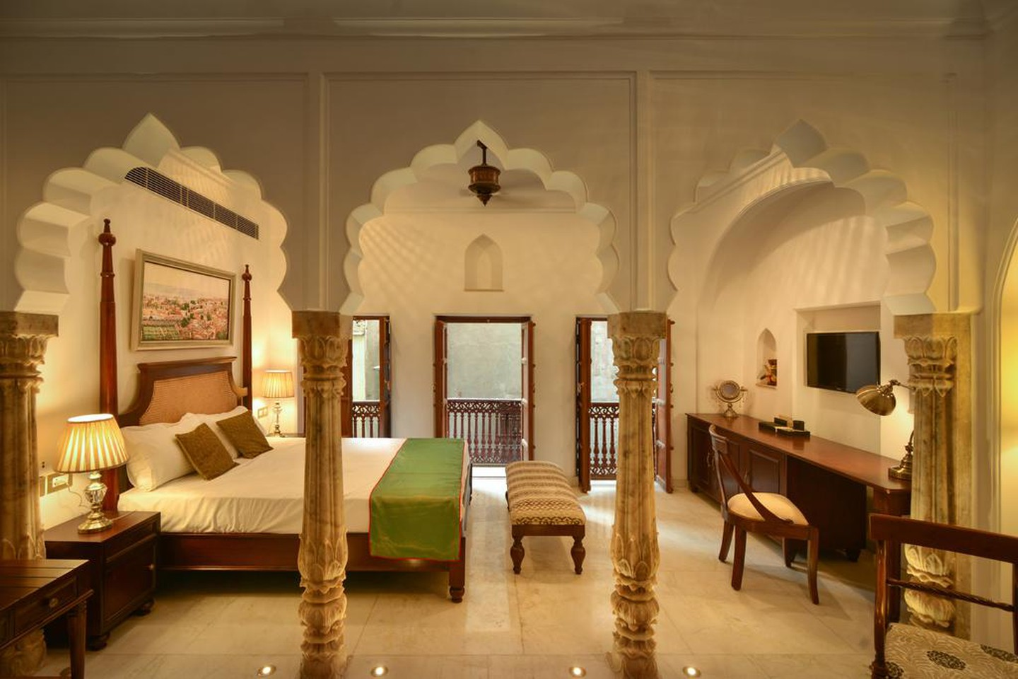 The Haveli Dharampura was awarded a prestigious UNESCO award for cultural and heritage restoration