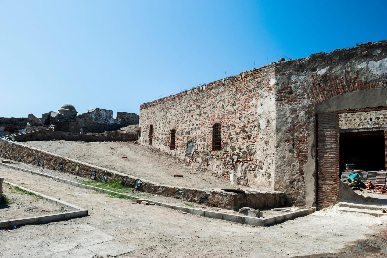 Grupo Monumental de las Paredes Reales (Conjunto Monumental de las Murallas Reales), Ceuta, España.