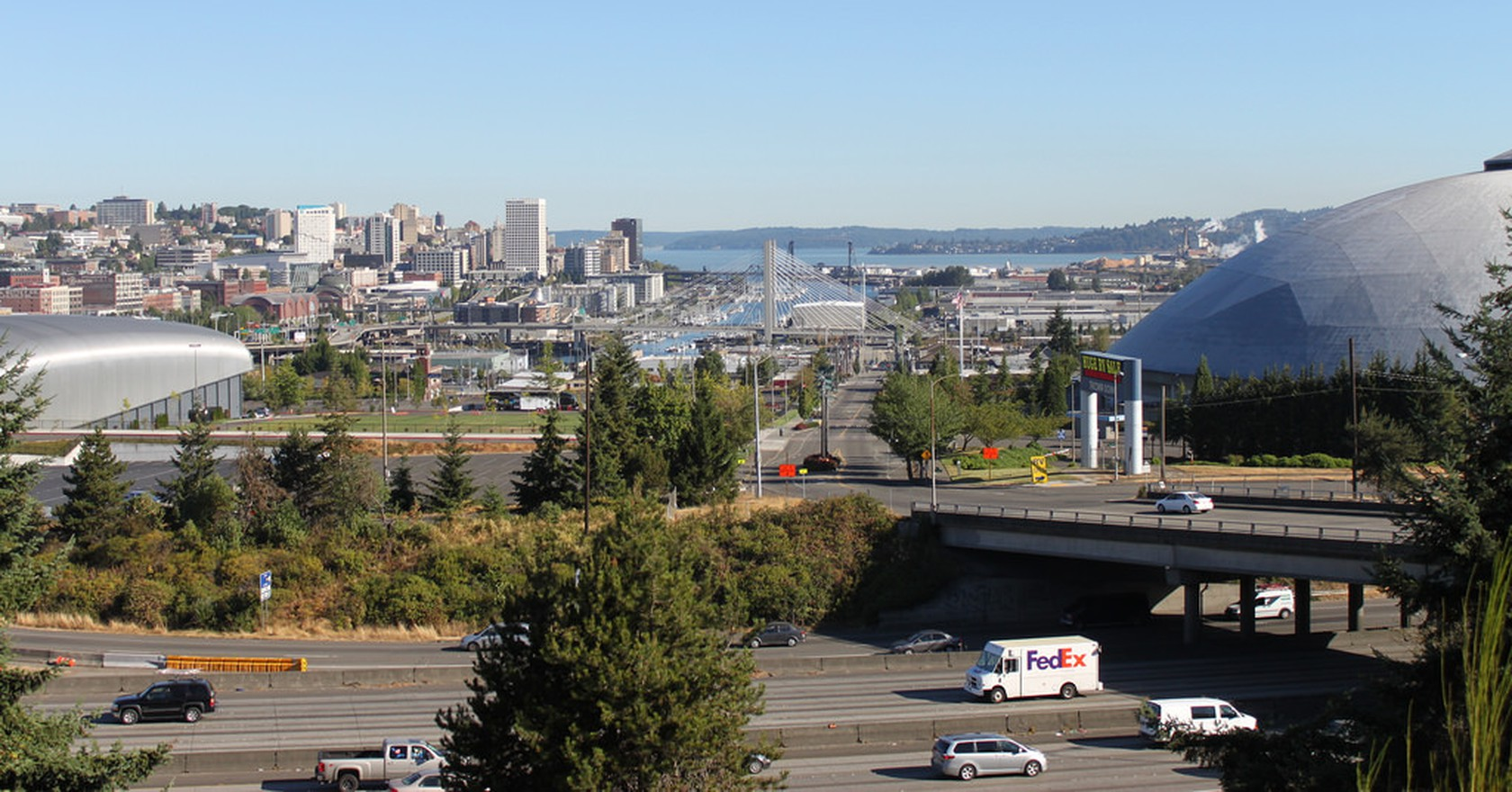 Tacoma Skyline From Mckinley Way Sounderbruce Flickr