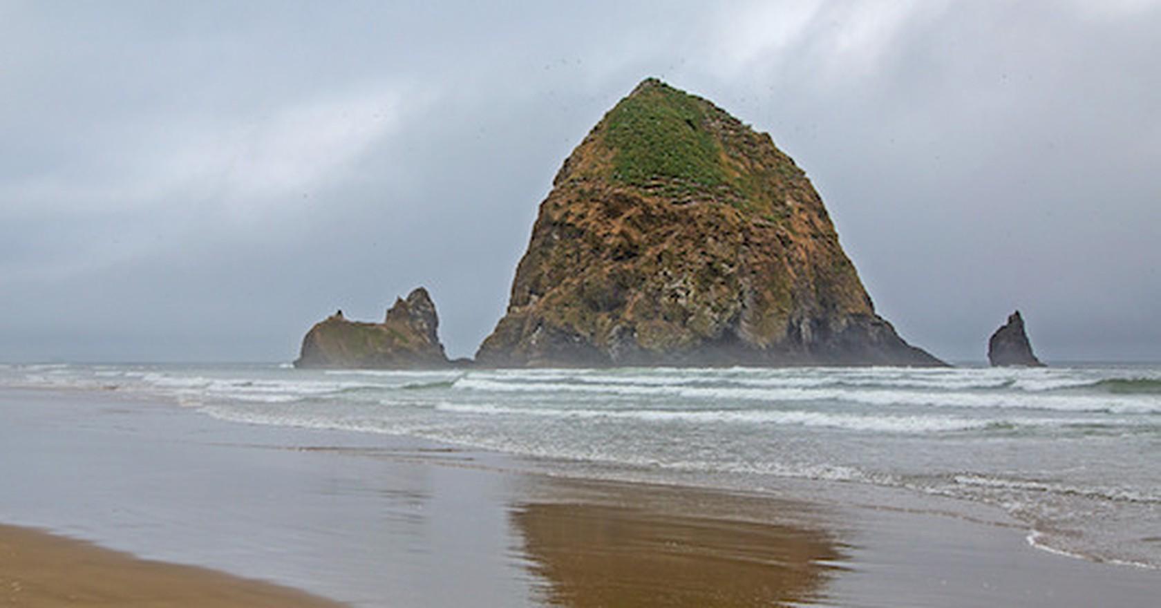 Haystack Rock Ralph Arvesen Flickr