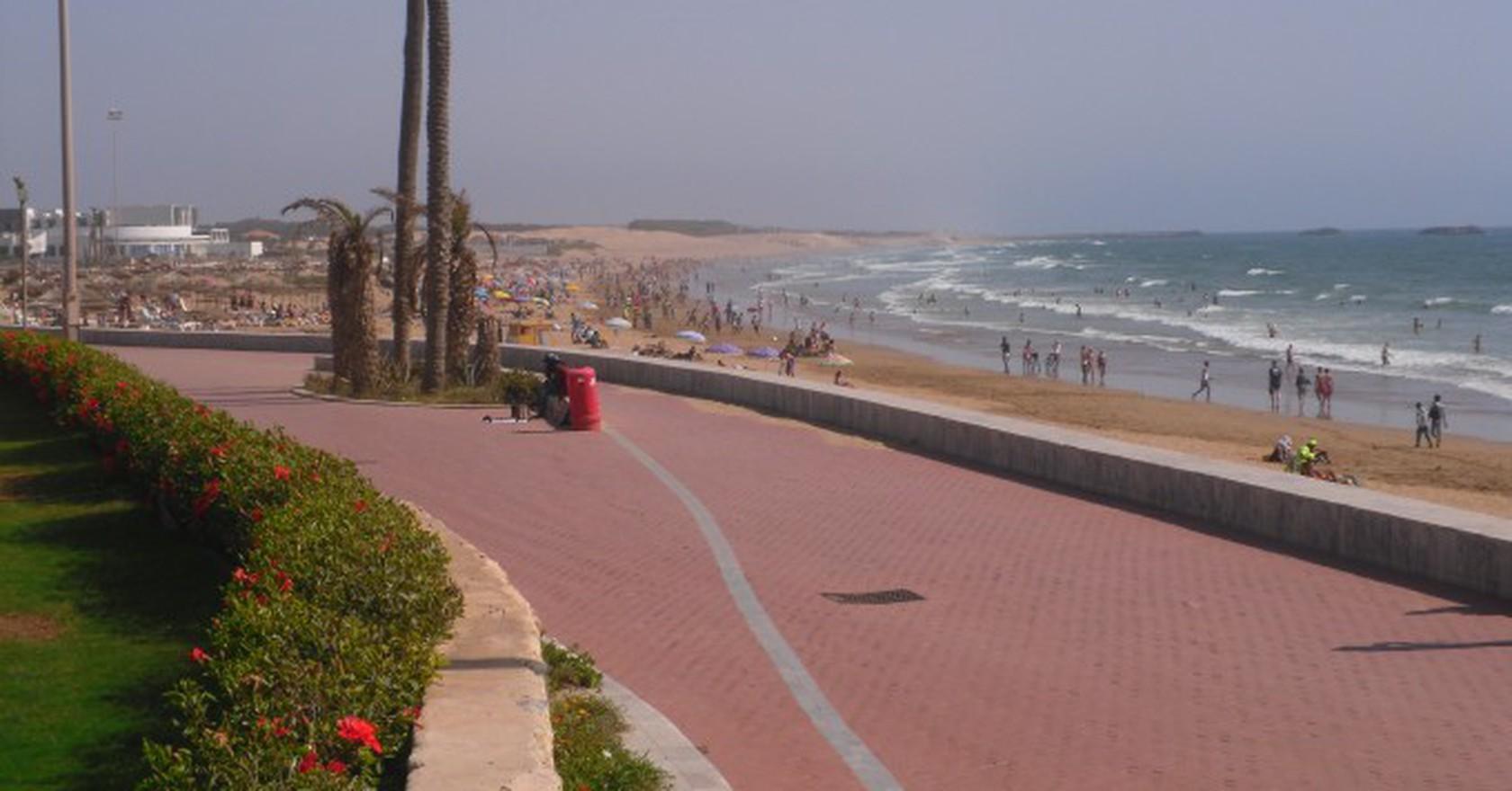 01 Beach Agadir Morocco Elmschrat Wikicommons