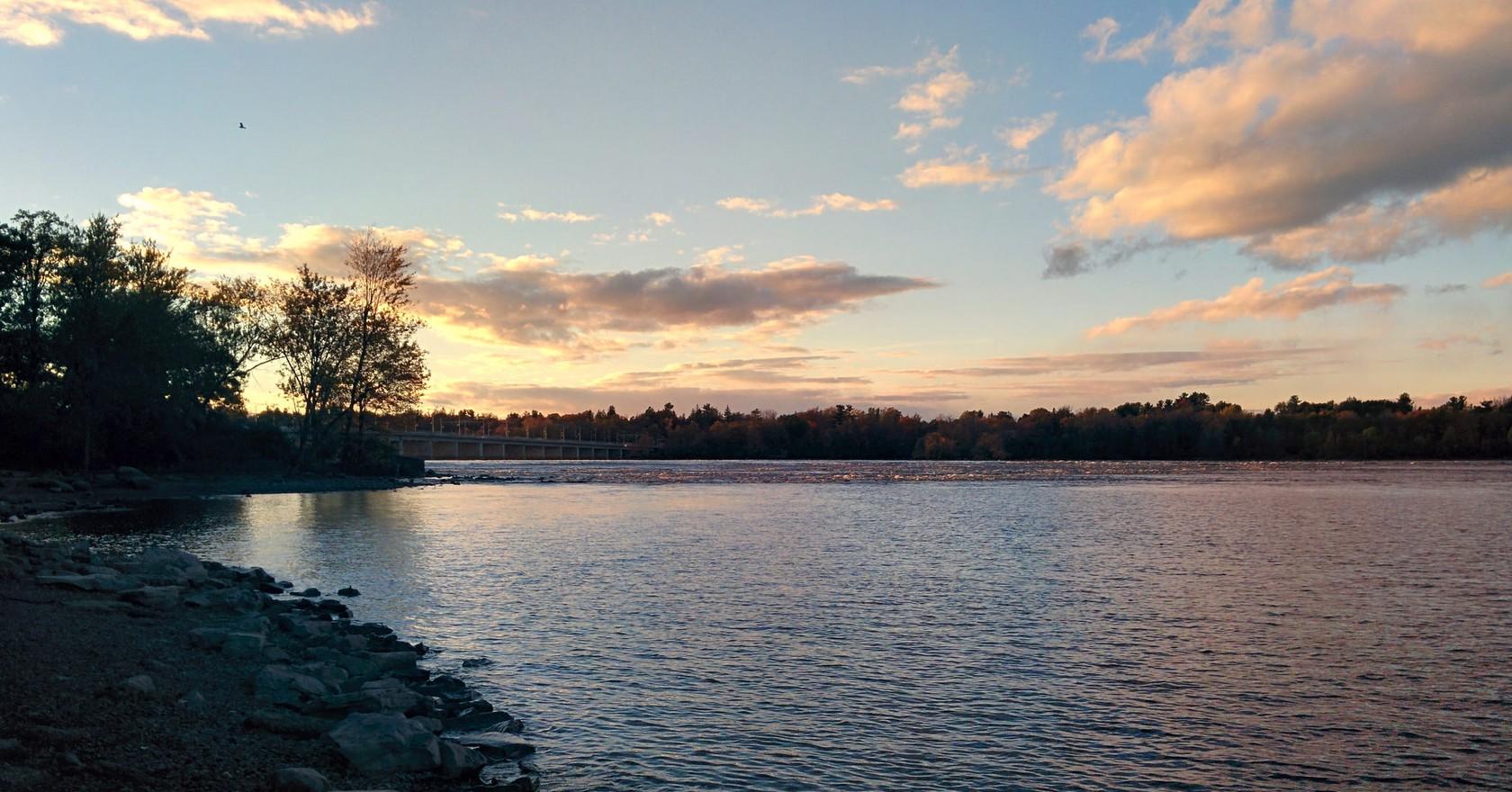 Ottawa River Gatineau Quebec Anson Chell