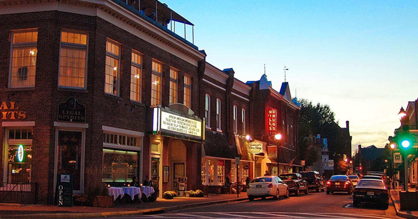 Downtown Easton Mellowcream Wikicommons