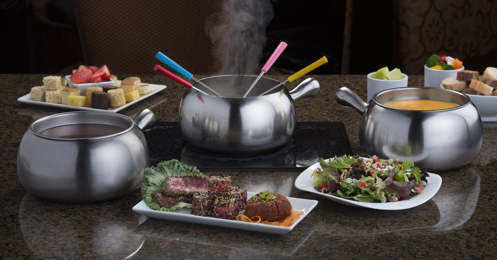 Four Course Experience Courtesy Of The Melting Pot Restaurants