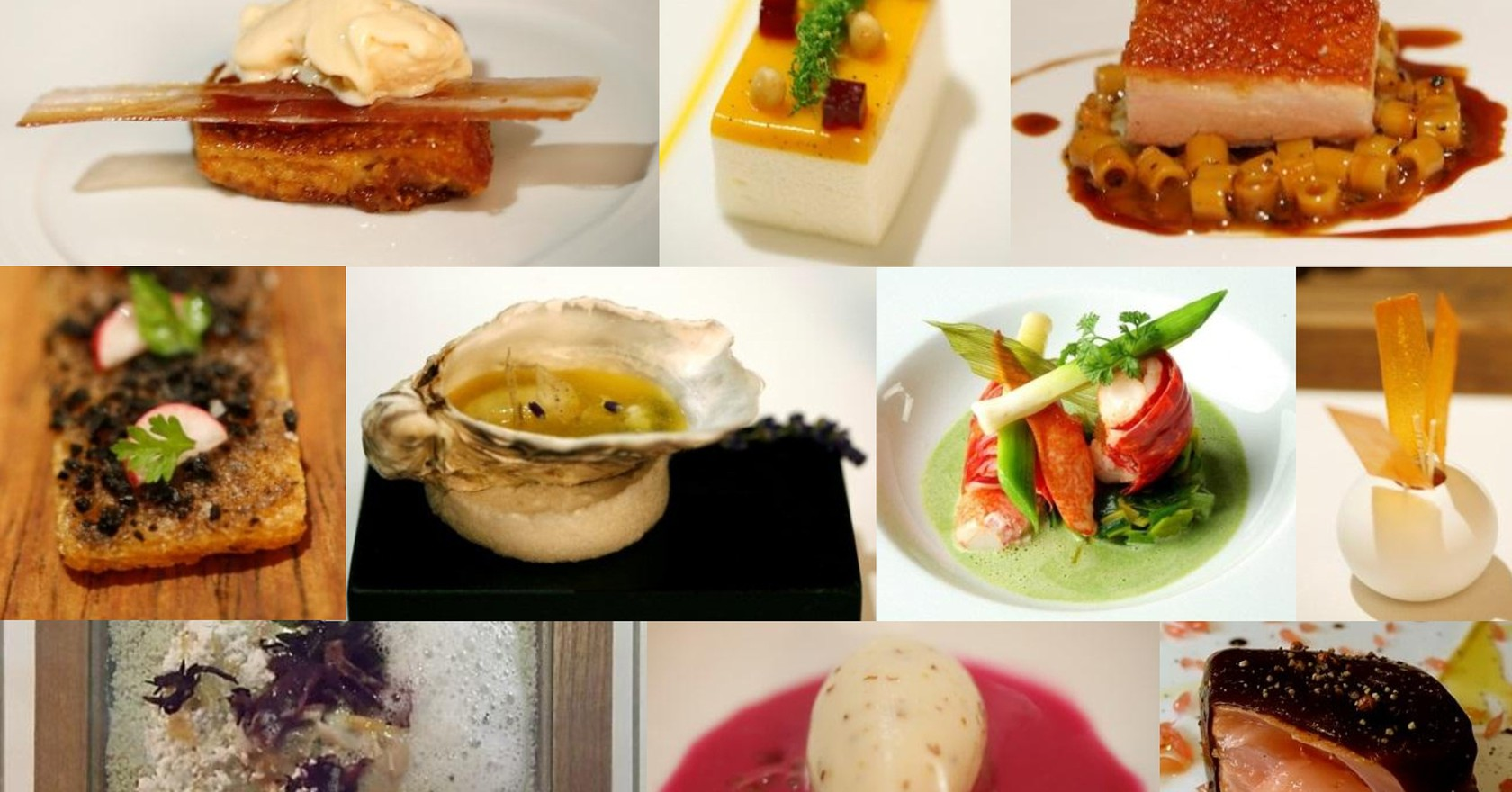 Dishes Made By Michelin Star Restaurants Charles Haynes Wikicommons