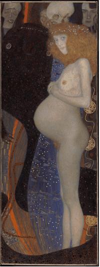 Gustav Klimt, Hope I (1903)   Courtesy of the National Gallery of Canada