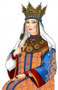 Portrait of Nasrin-Nush | © Asli Samadova (P) 2015 Asli Samadova and ASN (Azerbaijan Student Network) Illustrations by Creative 141 Worldwide