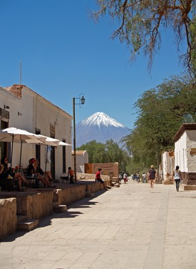 Gustavo le Paige street in San Pedro de Atacama