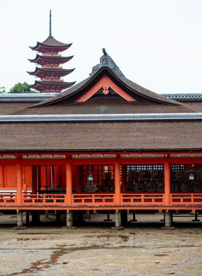 Shinto shrine and UNESCO World Heritage Site