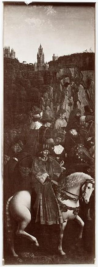 Jan Van Eyck, The Just Judges (Photograph), c1426 | (c) WikiCommons/1Veertje